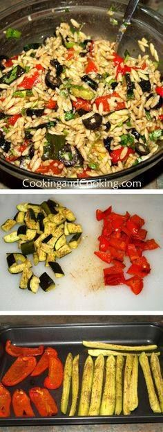 Orzo and Vegetable S Orzo and Vegetable Salad Recipe :...  Orzo and Vegetable S Orzo and Vegetable Salad Recipe : http://ift.tt/1hGiZgA And @ItsNutella  http://ift.tt/2v8iUYW