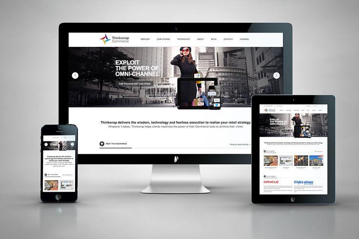 Thinkwrap Commerce: Responsive Website | www.hintongroup.com