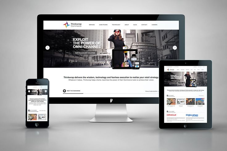 Thinkwrap Commerce: Responsive Website | www.hintongroup.com