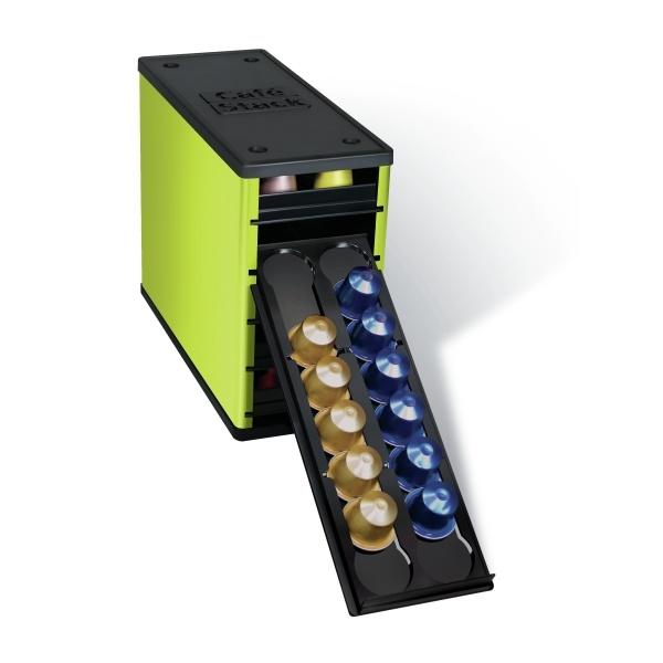 48 best capsule dispenser coffee images on pinterest box kitchens and nespresso. Black Bedroom Furniture Sets. Home Design Ideas
