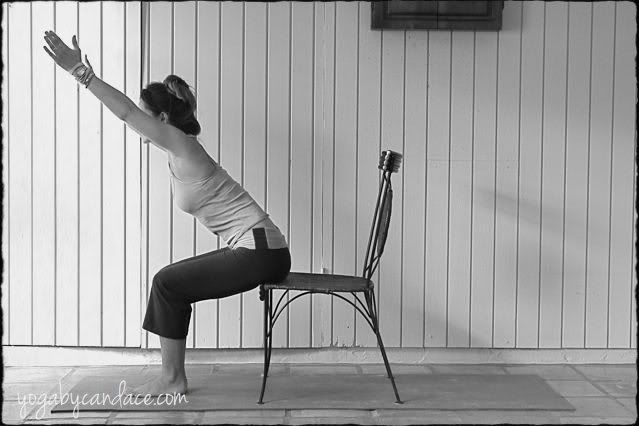 Yoga Tip Chair Yoga Chair Yoga Yoga Movement And Yoga