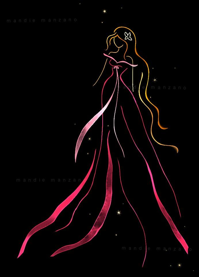 Ribbon Art - Giselle