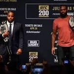 Jon Jones Believes Anthony Johnson is a 'Very One-Dimensional ...  Jon Jones is welcome to watch the Daniel Cormier vs Anthony Johnson fight at UFC 210. Johnson's last loss was to DC at UFC 187.