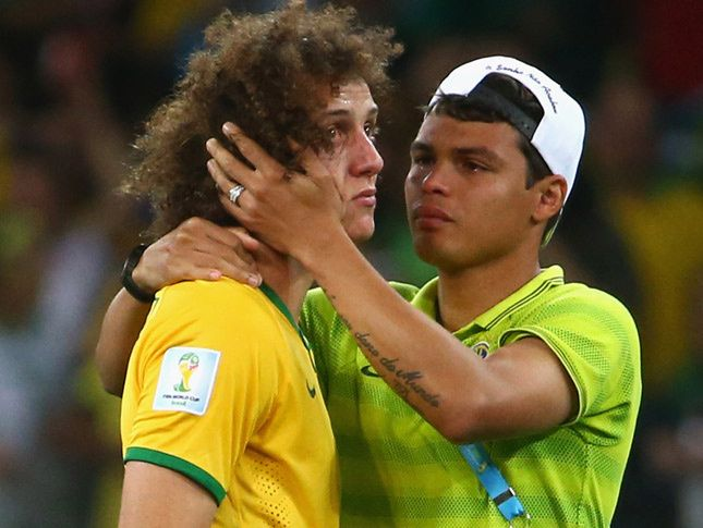 Football Friendship !! Luiz & Thiago