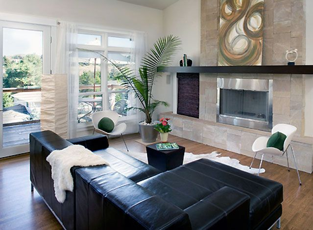 open concept formal living and dining rooms | ... related to Modern Sloping home's kitchen and living room design 2011