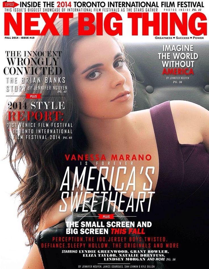 Fall 2014 cover with Vanessa Marano