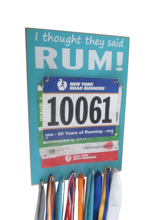 Race bibs and medals holder  medals holder for by runningonthewall, $28.99