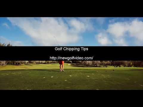 golf chipping and pitching tips