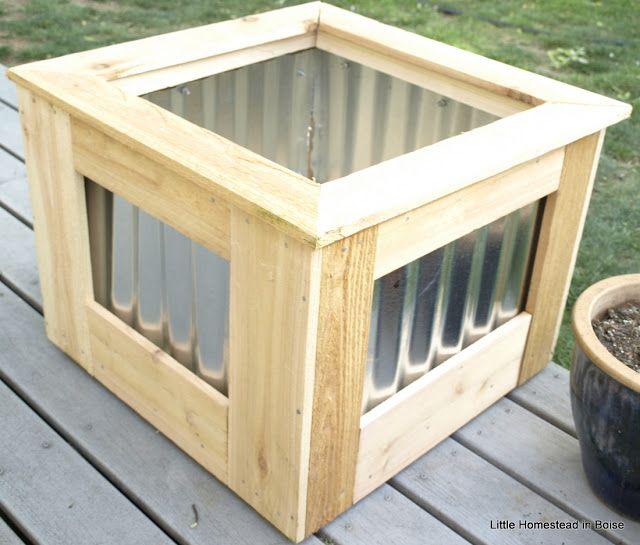 Metal Roofing Planter