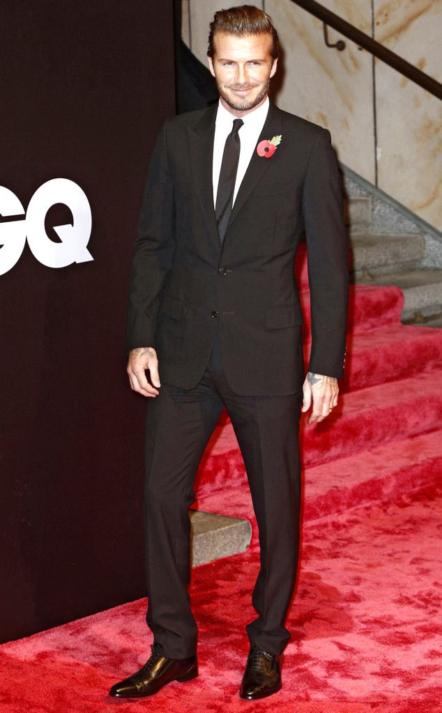David Beckham's been named the most stylish man of the year. (No one's surprised!)