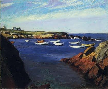 Edward Hopper, The Dories, Ogunquit.
