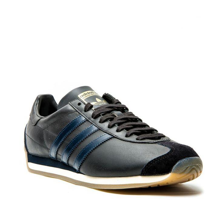 United Arrows x Adidas Country OG: Black