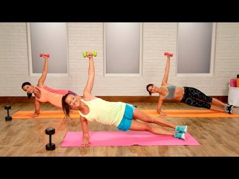 11 Minute Workout That Will Effectively Beat The Bra Buldge !! ( VIDEO ) - Home Healthy Habits