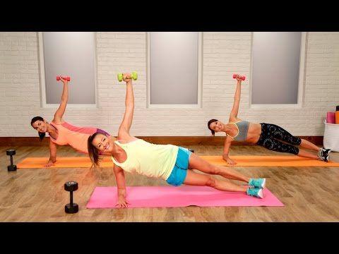10 minut cvičení a můžete říct tuku v podpaží sbohem | Milujeme cvičení