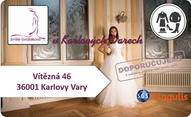 NOVÝ OBCHODNÍ PARTNER V KARLOVÝCH VARECH SVATEBNÍ SALON Vybíráme svatební šaty tak, aby byla nevěsta klenotem svatby.  http://www.singulis.cz/pages/obchodnik.aspx?cla_id=22201