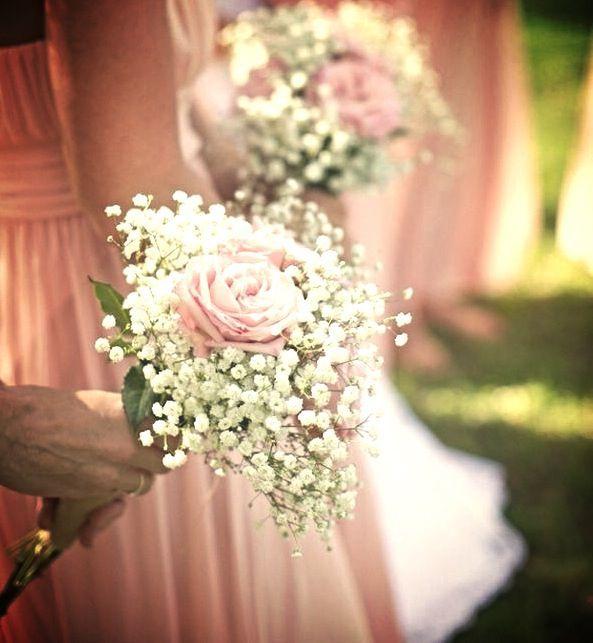 simple bridesmaids bouquet | Simple, pretty bridesmaid bouquets