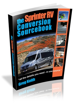 Thinking of a DIY campervan conversion? The Sprinter RV Conversion Sourcebook describes everything you'll need to convert a Sprinter van into a custom Sprinter camper or Sprinter RV.