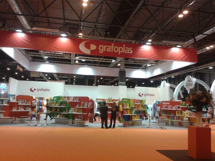 Feria Intergift 2013, vista de nuestro stand #grafoplás
