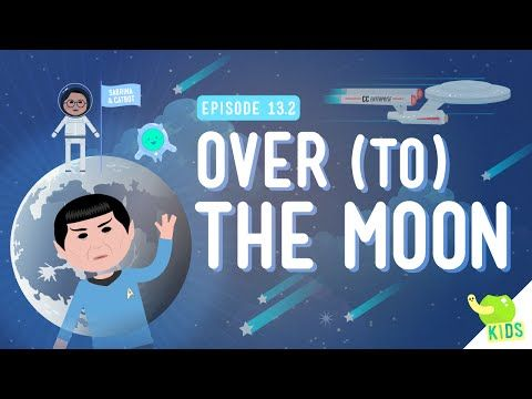 Over (to) The Moon: Crash Course Kids #13.2 by thecrashcourse: Sabrina gets a new set in this episode of Crash Course Kids. Do you want to be an astronaut? Would you like to someday walk on the moon? Well, you better learn a little about gravity so you can escape from Earth and head into space. Today, Sabrina chats with us about what it takes to get to the moon! Support The Crash Course on Patreon