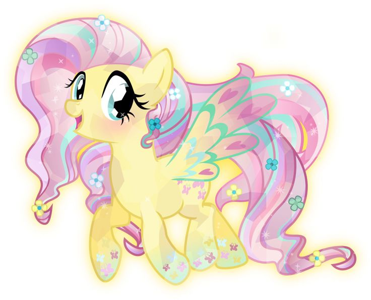 Rainbow Power: Crystal Fluttershy by TheShadowStone on DeviantArt