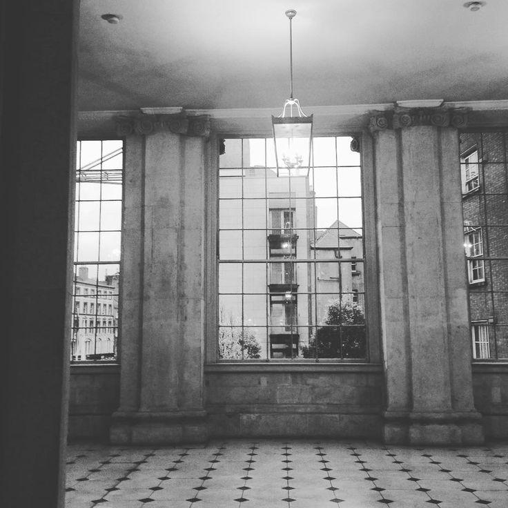 The East Window at City Hall Dublin #Windows #BlackAndWhite #CityHallDublin