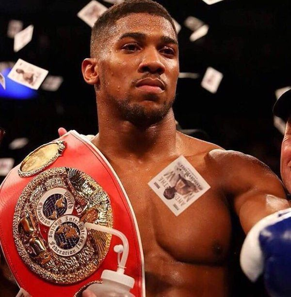 Anthony Joshua Learnt Discipline At A Nigerian Boarding School & It Changed His Life Forever
