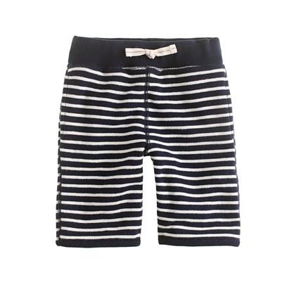 Terry shortsTerry Stripes, Terry Clothing, Kids Style, Nautical Stripes, Boys Style, Stripes Shorty, Long Terry, Terry Shorts, Boys Clothing