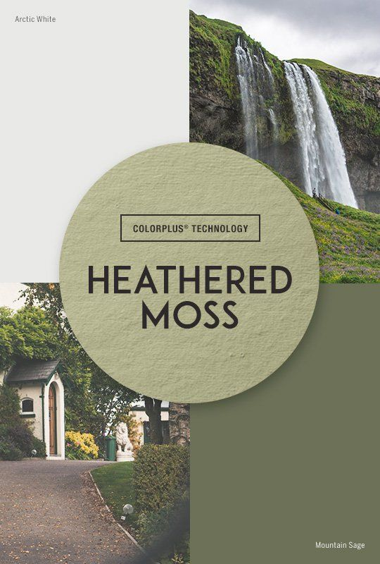 James Hardie Heathered Moss Siding Inspiration