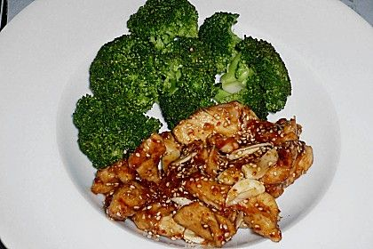 Honig - Hähnchenbrust mit Sesam und Broccoli 1