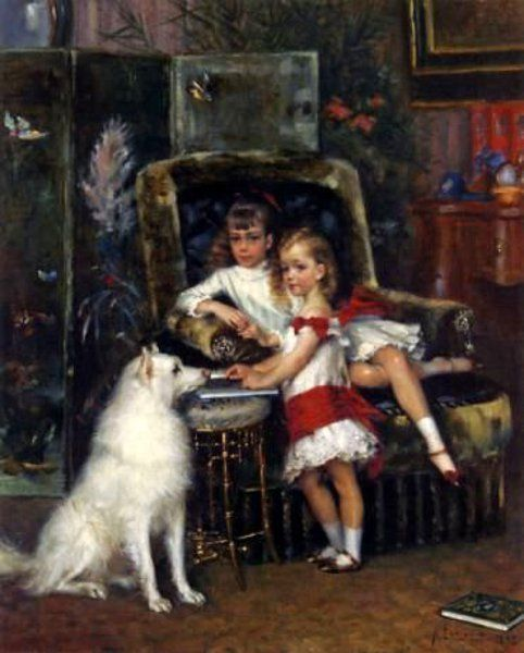 The Children Of Alexander III, Mikhail And Ksenia