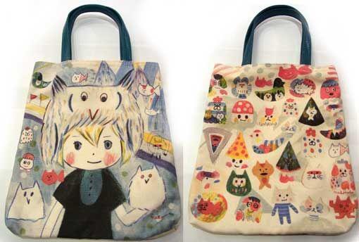 Nekonoko bags (qué belleza!)