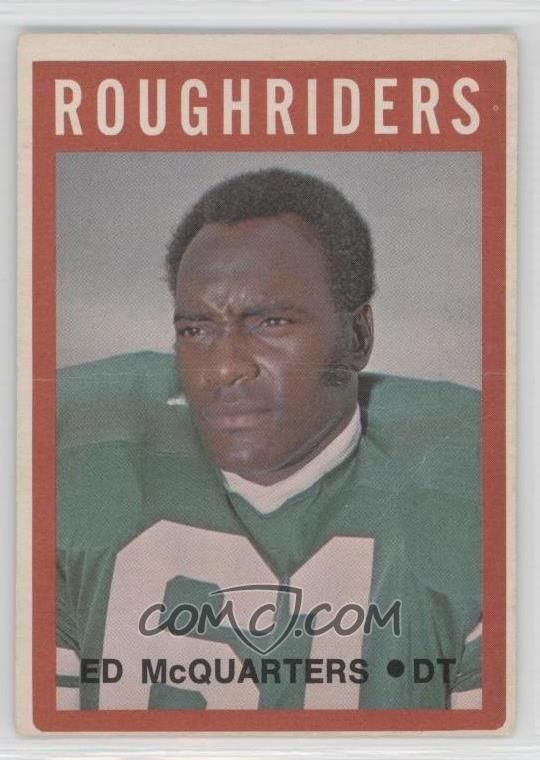 1972 O-Pee-Chee Canadian Football League #83 - Eddie McMillan [Poor to Fair] - COMC Card Marketplace