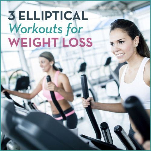 Take this elliptical workout to the gym, the hotel workout room, or even to your own basement! Printable exercises that are fast and use intervals on the elliptical machine to maximize your workout time! #fitness #elliptical