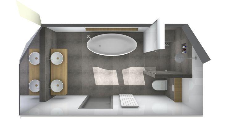 Ontwerp voor een luxe badkamer bij van wanrooij luxe badkamers pinterest van - Spotlight ontwerp ...