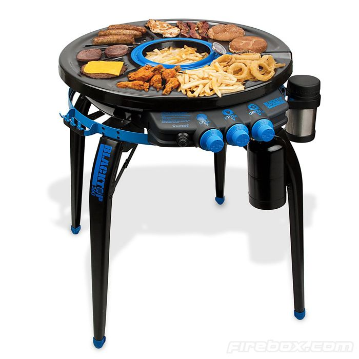 Blacktop 360 Party Grill - serious weapon for outdoor parties: Hub Grillfryer, Camps Gadgets, 360 Parties, Potter Wheels, Premium Parties, Blacktop 360, Products, Parties Hub, Parties Grilled