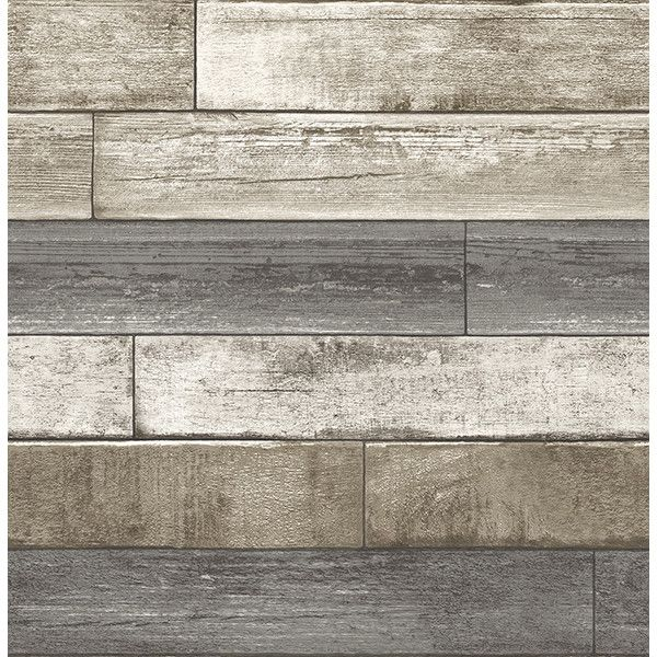 Wood Texture Grey Weathered Plank Wallpaper By A Streets Prints 140 Liked On Polyvore Fea Wood Plank Wallpaper Wood Wallpaper Reclaimed Wood Wallpaper