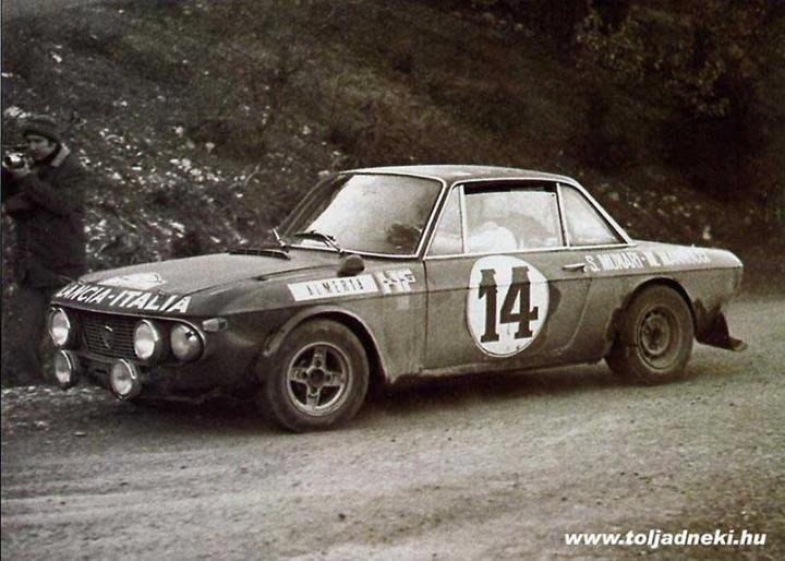 Sandro Munari, Rally Montecarlo 1972 - Lancia Fulvia HF - http://minireplicas.com/shop/minireplicas-catalogo-132/lancia-fulvia-hf/