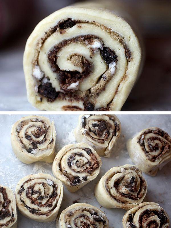 Oreo Cookie Rolls