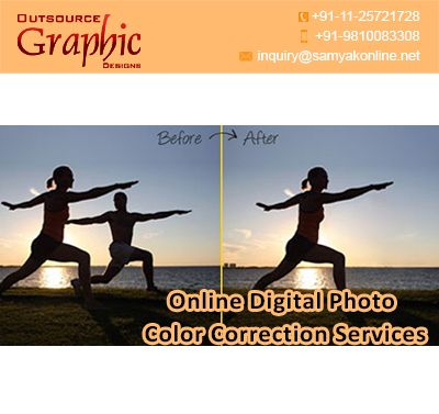 Our online digital photo color correction services help you in multi-dimensions like red eye effects, color tones, white balance, adding highlights, color hues & gloss-matte finishes. Our experts help you to offer the best pricing options. Call us now for best services.