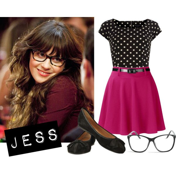 """New Girl - Jess!"" by tyraamail on Polyvore"