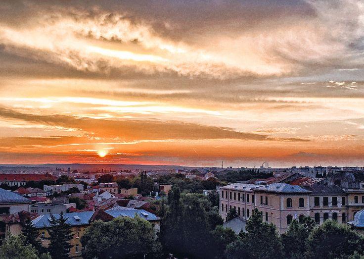 Sunsets in Craiova.. magical!