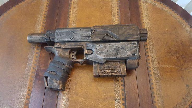 Cosplay prop. Steampunk / Wasteland gun - Nerf Recon, Silver