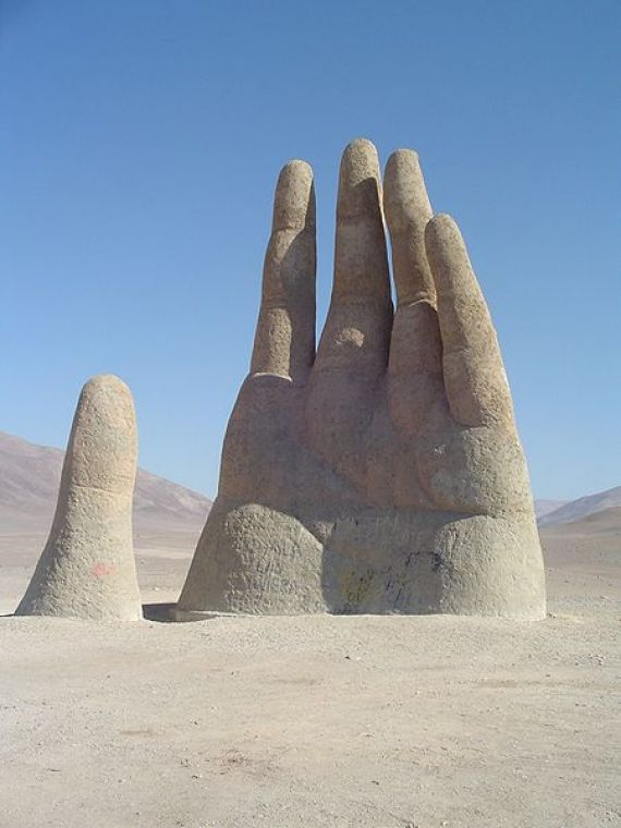 Hand of the Desert - Atacama Desert, Chile