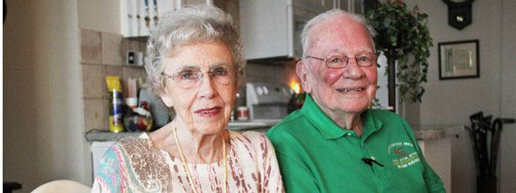 """For these two, love conquers all - even health and memory challenges. """"When you love someone as much as I love my wife, giving up activities and hobbies in order to care for her is what you do,"""" Bill says."""