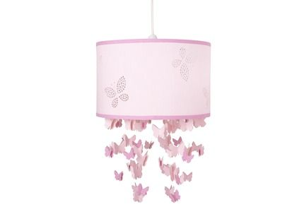 Bella Butterfly Pink Mobile Ceiling Shade