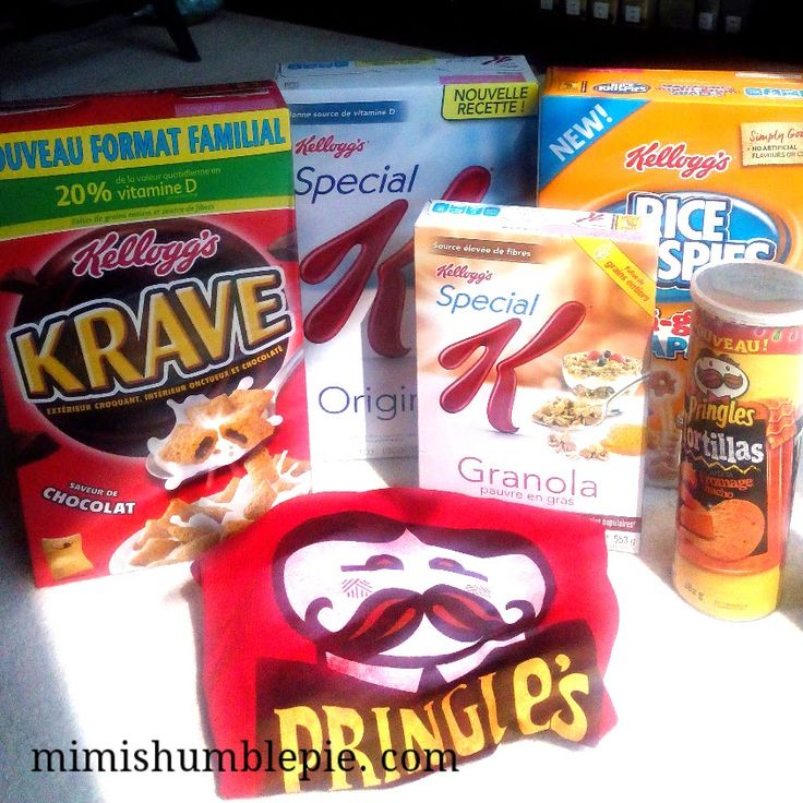 Mimi's Humble Pie: New Flavours From Pringles and More #KelloggCAInno...