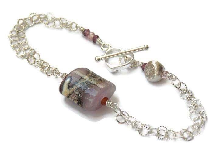 Romantic Lilac Bracelet! #softandpretty #femininejewelry #artisanbracelet #luxejewelry