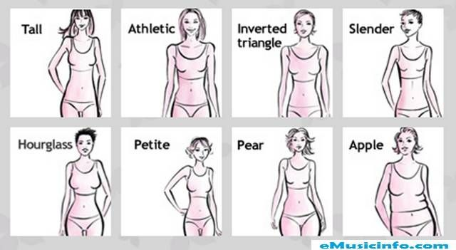 women body shapes types | Standard or the ideal figure | Move Your ...