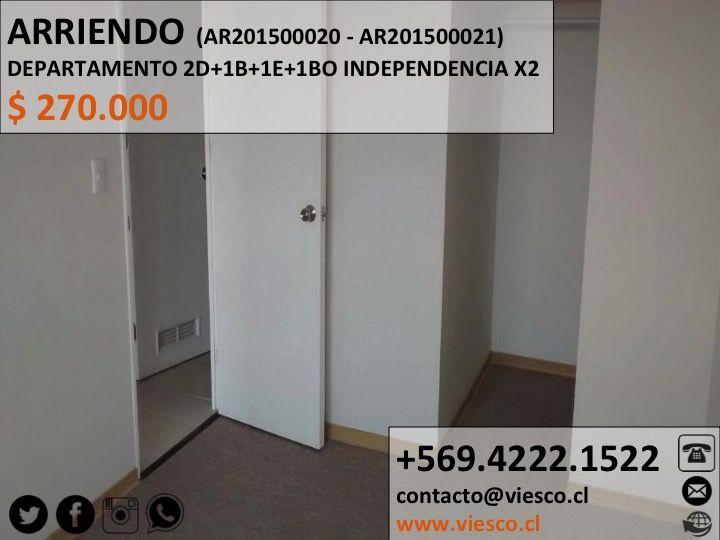 ARRIENDO DEPARTAMENTO, más info  #viesco  #departamento #arriendo