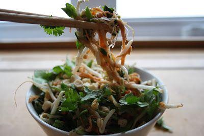 Tout+Cru+Dans+Le+Bec:+Salade+pad+thaï